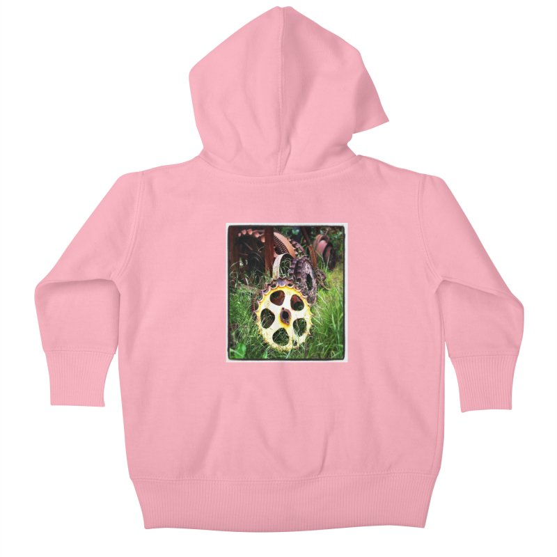 Sprockets and Gears for the Gear Head Kids Baby Zip-Up Hoody by terryann's Artist Shop