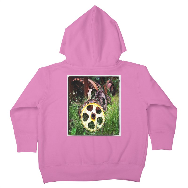Sprockets and Gears for the Gear Head Kids Toddler Zip-Up Hoody by terryann's Artist Shop