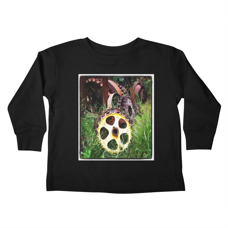 Sprockets and Gears for the Gear Head Kids Toddler Longsleeve T-Shirt by terryann's Artist Shop