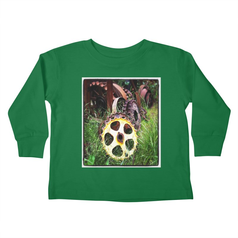 Sprockets and Gears for the Gear Head Kids Toddler Longsleeve T-Shirt by terryann's Artist Shop
