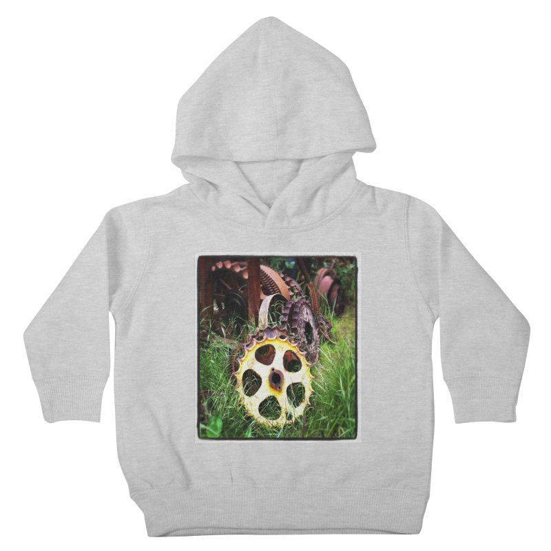 Sprockets and Gears for the Gear Head Kids Toddler Pullover Hoody by terryann's Artist Shop