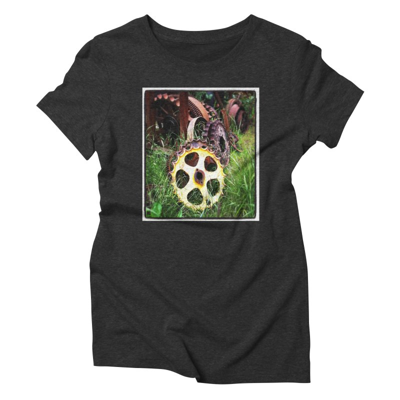 Sprockets and Gears for the Gear Head Women's Triblend T-Shirt by terryann's Artist Shop