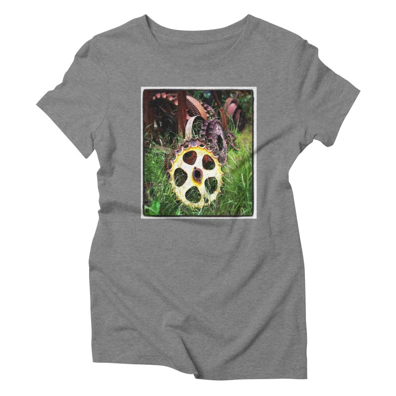 Sprockets and Gears for the Gear Head Women's Triblend T-Shirt by terryann's Artist Shop