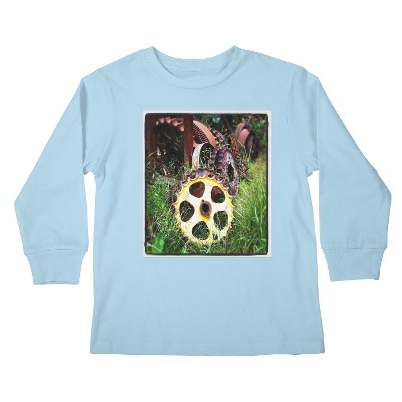 Sprockets and Gears for the Gear Head Kids Longsleeve T-Shirt by terryann's Artist Shop