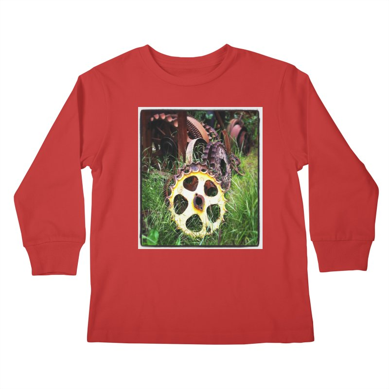 Sprockets and Gears for the Gear Head Kids Longsleeve T-Shirt by terryann's Artist Shop