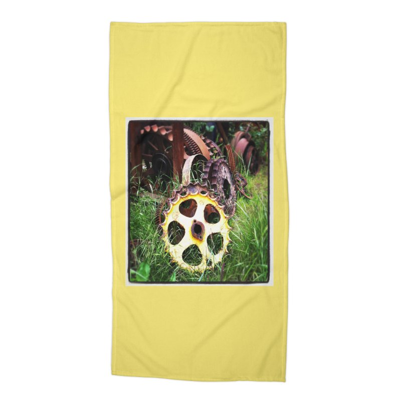 Sprockets and Gears for the Gear Head Accessories Beach Towel by terryann's Artist Shop