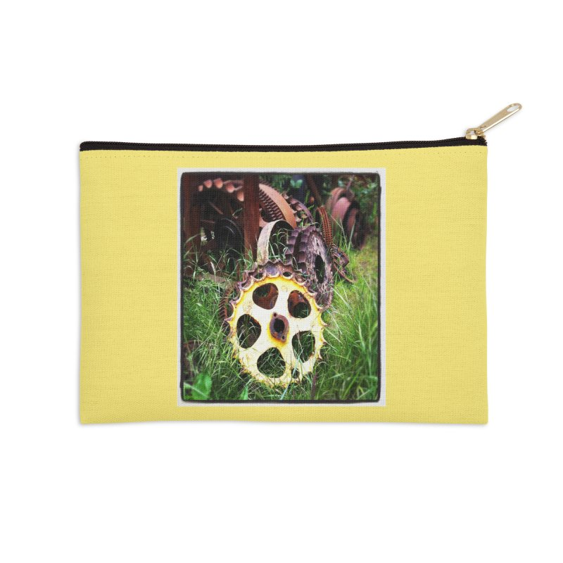 Sprockets and Gears for the Gear Head Accessories Zip Pouch by terryann's Artist Shop
