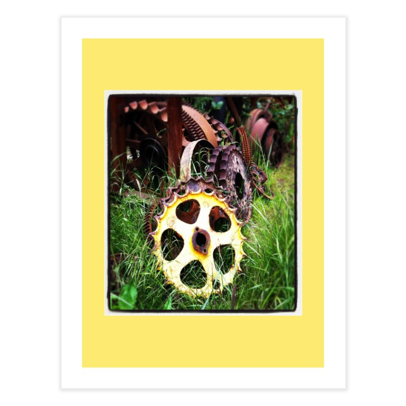 Sprockets and Gears for the Gear Head Home Fine Art Print by terryann's Artist Shop