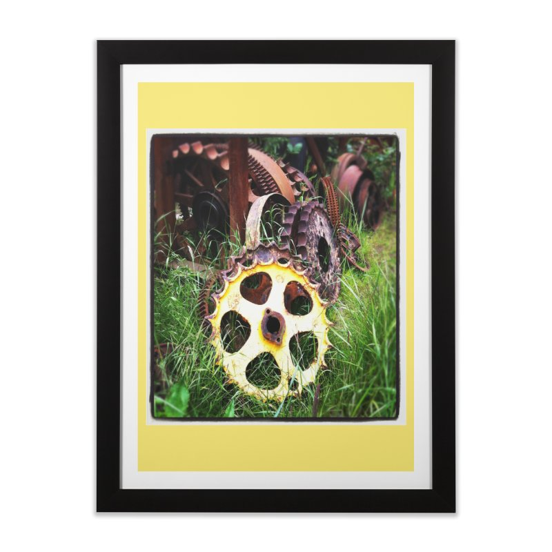 Sprockets and Gears for the Gear Head Home Framed Fine Art Print by terryann's Artist Shop