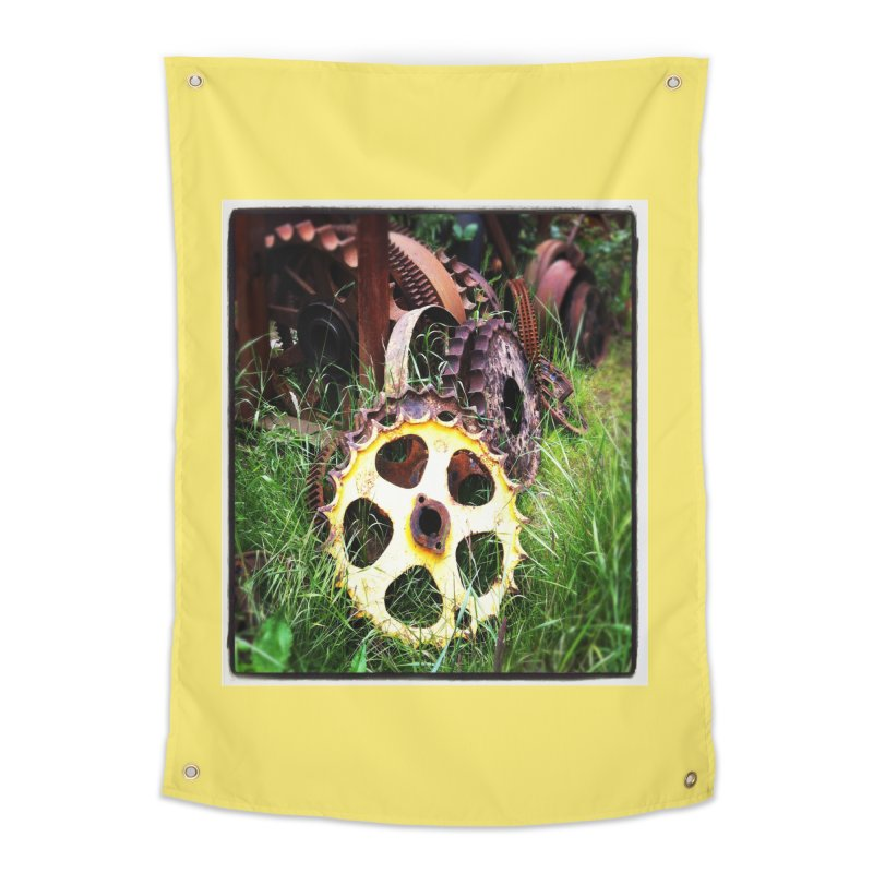 Sprockets and Gears for the Gear Head Home Tapestry by terryann's Artist Shop