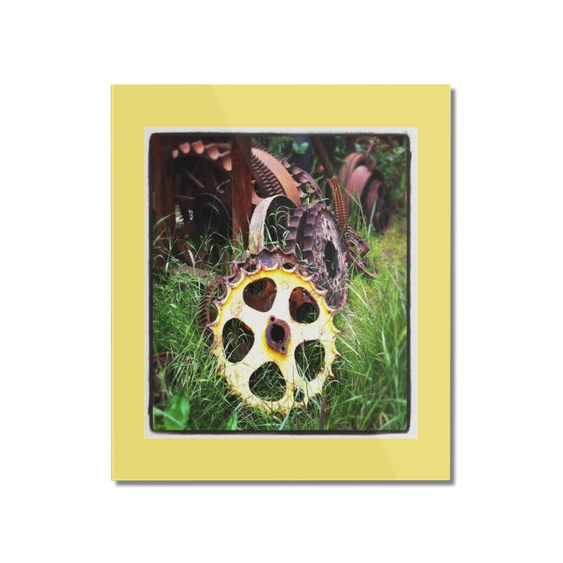 Sprockets and Gears for the Gear Head Home Mounted Acrylic Print by terryann's Artist Shop