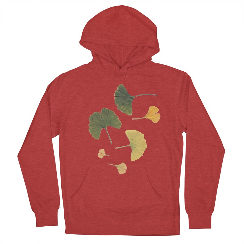 Ginkgo for you. Women's Pullover Hoody by terryann's Artist Shop