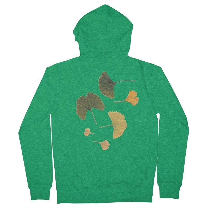 Ginkgo for you. Women's Zip-Up Hoody by terryann's Artist Shop