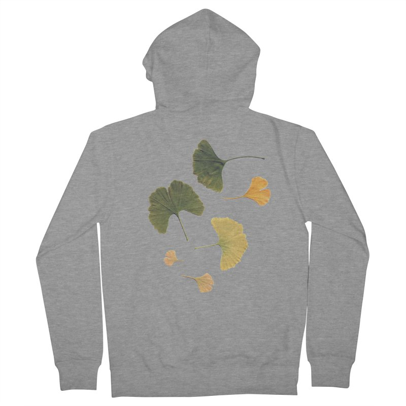 Ginkgo for you. Women's Zip-Up Hoody by terryann's Artist Shop