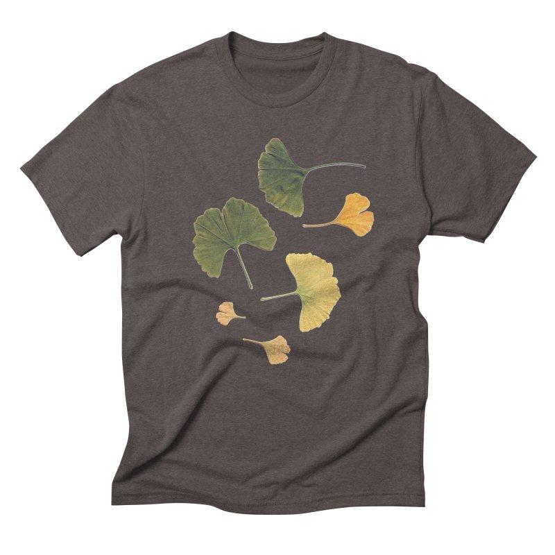 Ginkgo for you. Men's Triblend T-Shirt by terryann's Artist Shop