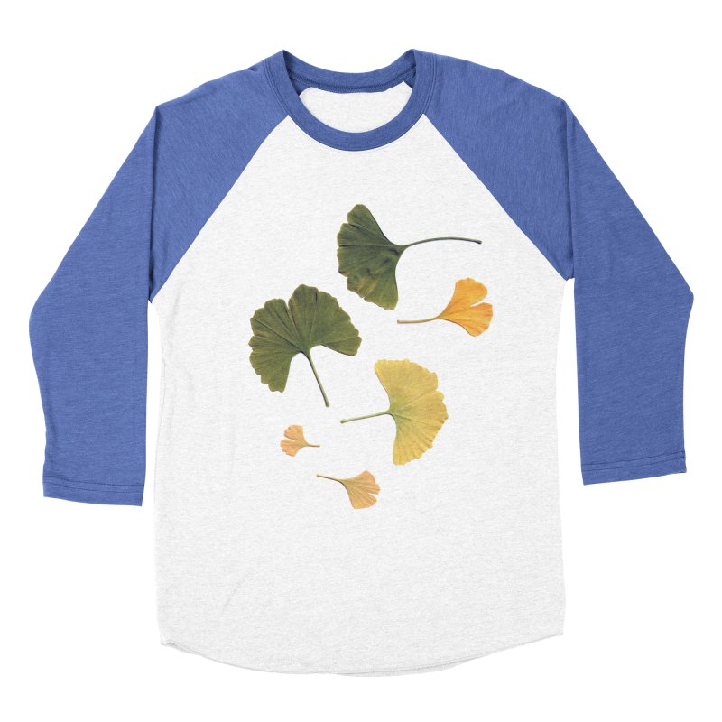Ginkgo for you. Women's Baseball Triblend T-Shirt by terryann's Artist Shop