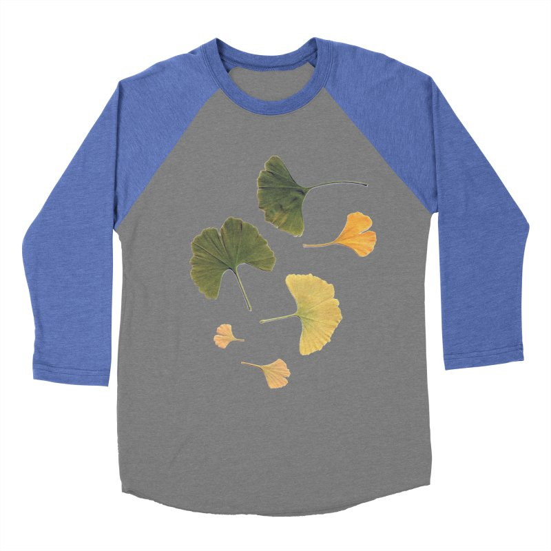 Ginkgo for you. Men's Baseball Triblend T-Shirt by terryann's Artist Shop