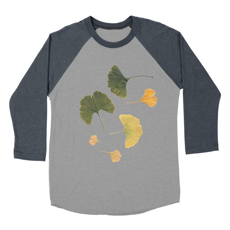 Ginkgo for you. Men's Baseball Triblend T-Shirt by terryann's Artist Shop