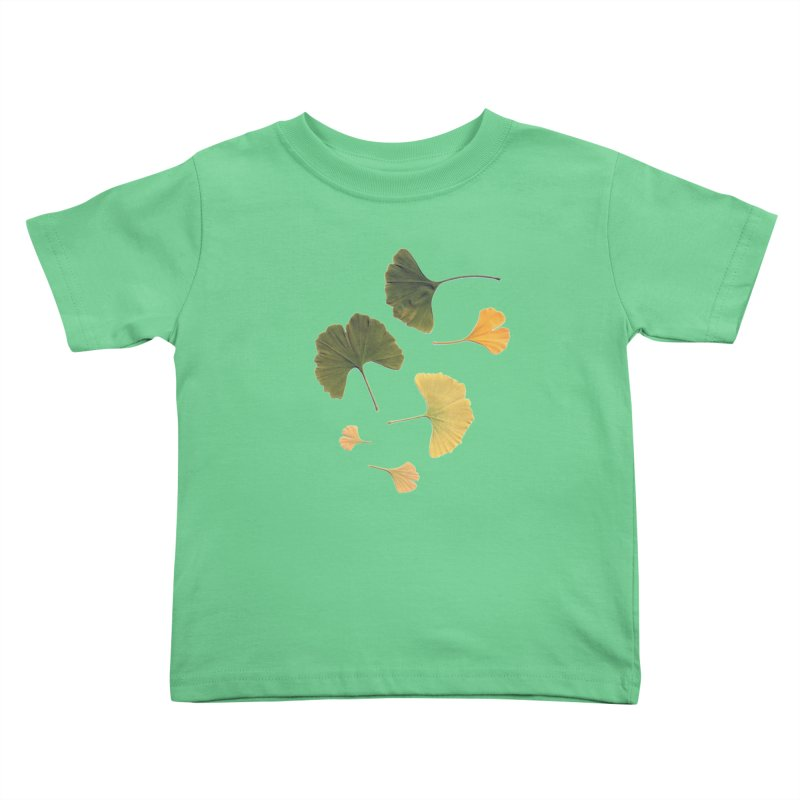Ginkgo for you. Kids Toddler T-Shirt by terryann's Artist Shop