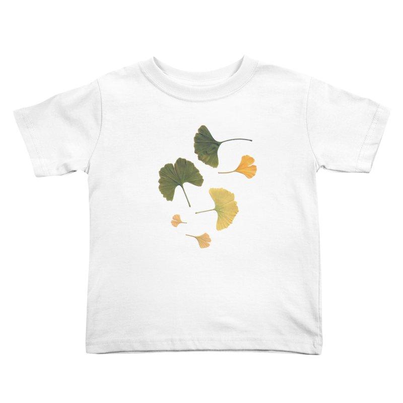 Ginkgo for you. Kids Toddler T-Shirt by terryann's Artist Shop