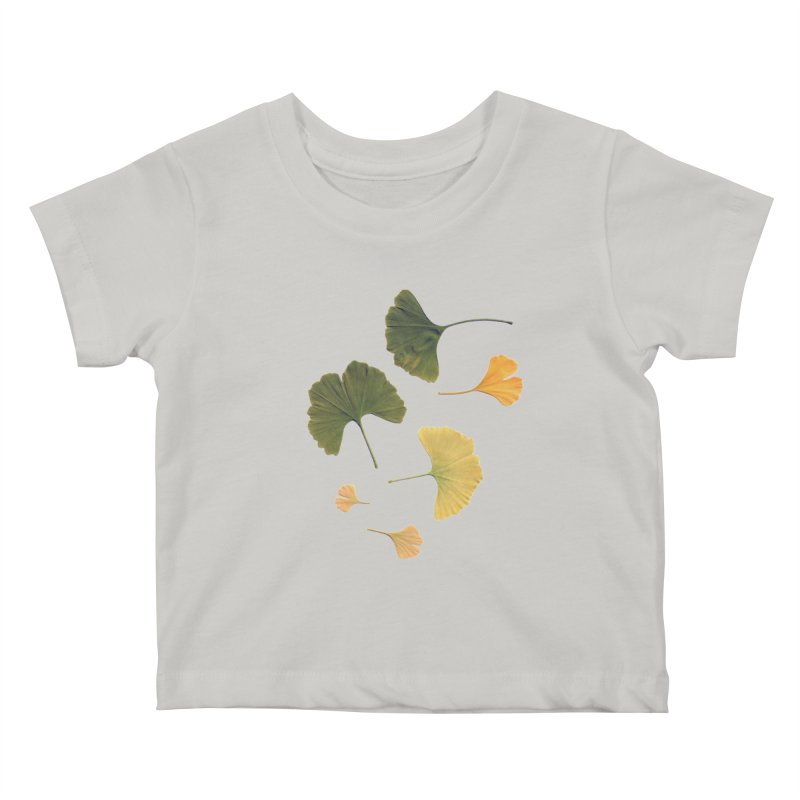 Ginkgo for you. Kids Baby T-Shirt by terryann's Artist Shop