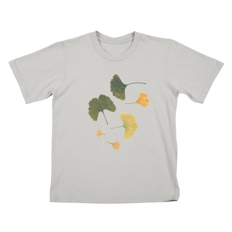 Ginkgo for you. Kids T-Shirt by terryann's Artist Shop