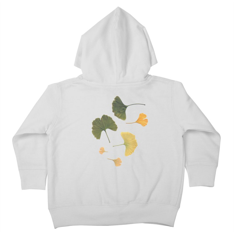 Ginkgo for you. Kids Toddler Zip-Up Hoody by terryann's Artist Shop
