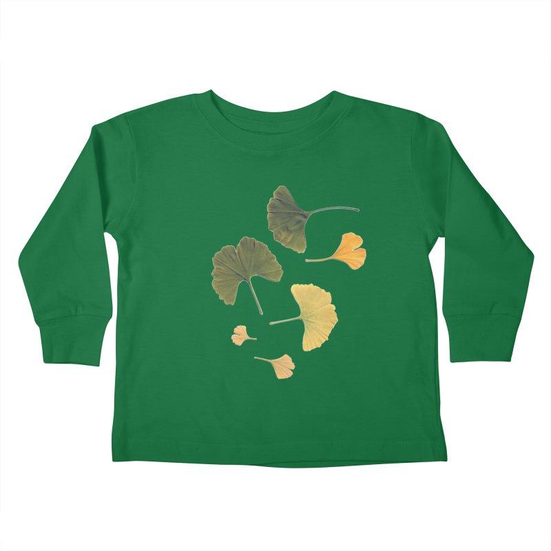 Ginkgo for you. Kids Toddler Longsleeve T-Shirt by terryann's Artist Shop