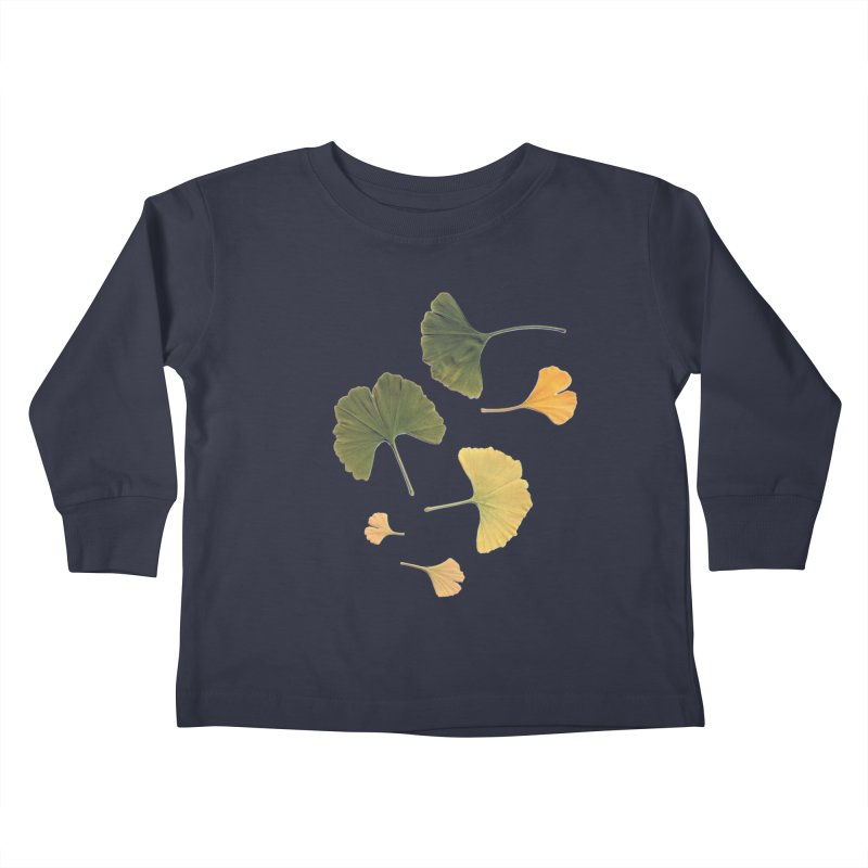Ginkgo for you. Kids Toddler Longsleeve T-Shirt by terryann's Artist Shop