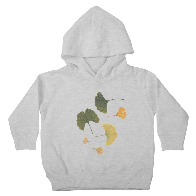 Ginkgo for you. Kids Toddler Pullover Hoody by terryann's Artist Shop
