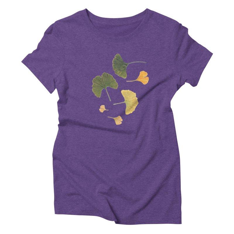 Ginkgo for you. Women's Triblend T-shirt by terryann's Artist Shop