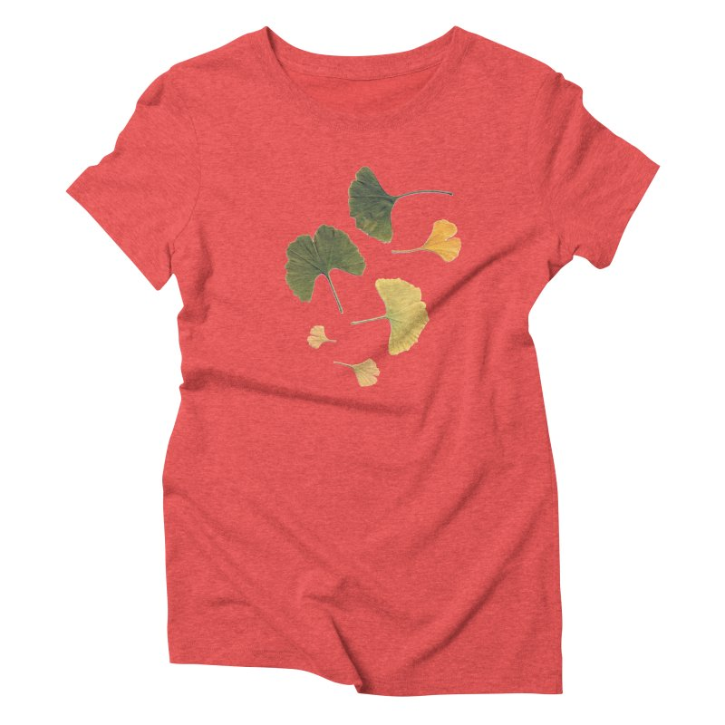 Ginkgo for you. Women's Triblend T-shirt by terryann's Artist Shop