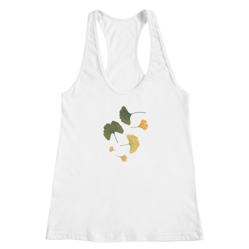 Ginkgo for you. Women's Racerback Tank by terryann's Artist Shop