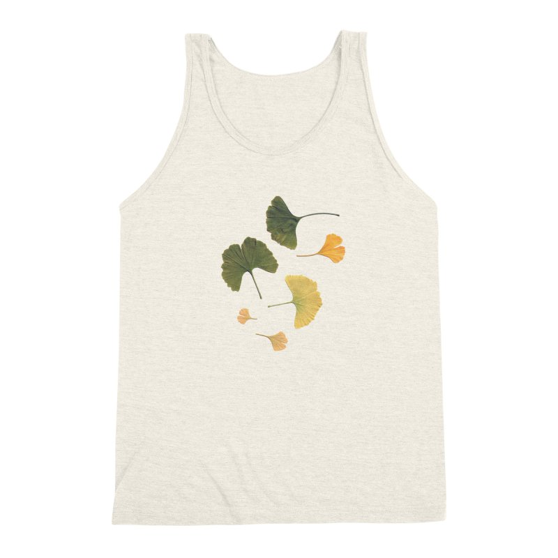Ginkgo for you. Men's Triblend Tank by terryann's Artist Shop