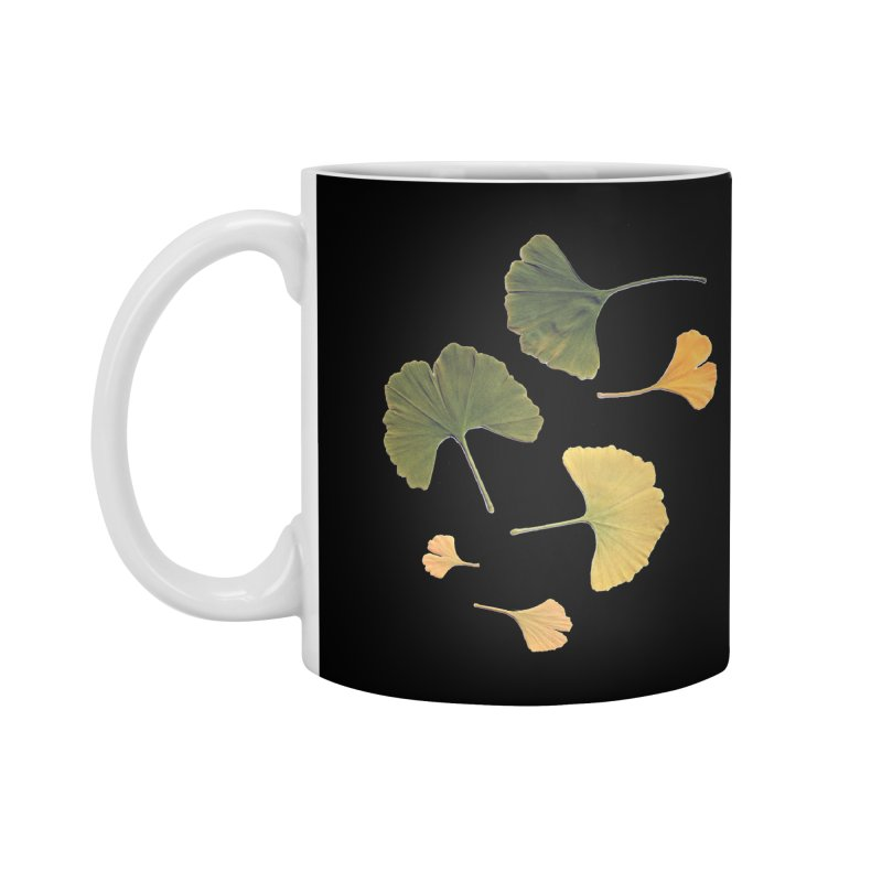 Ginkgo for you. Accessories Mug by terryann's Artist Shop