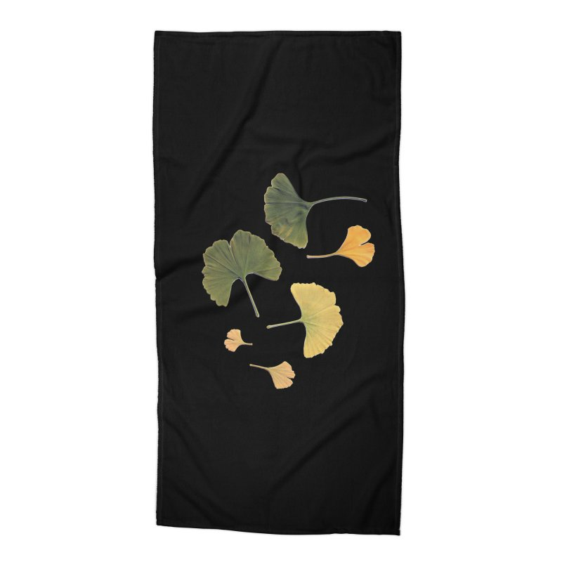 Ginkgo for you. Accessories Beach Towel by terryann's Artist Shop