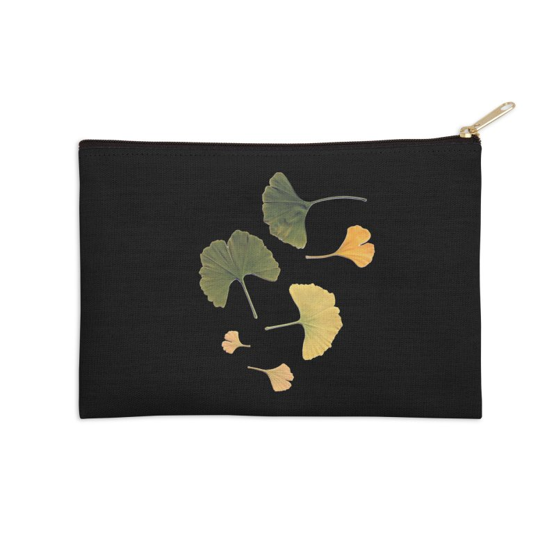Ginkgo for you. Accessories Zip Pouch by terryann's Artist Shop