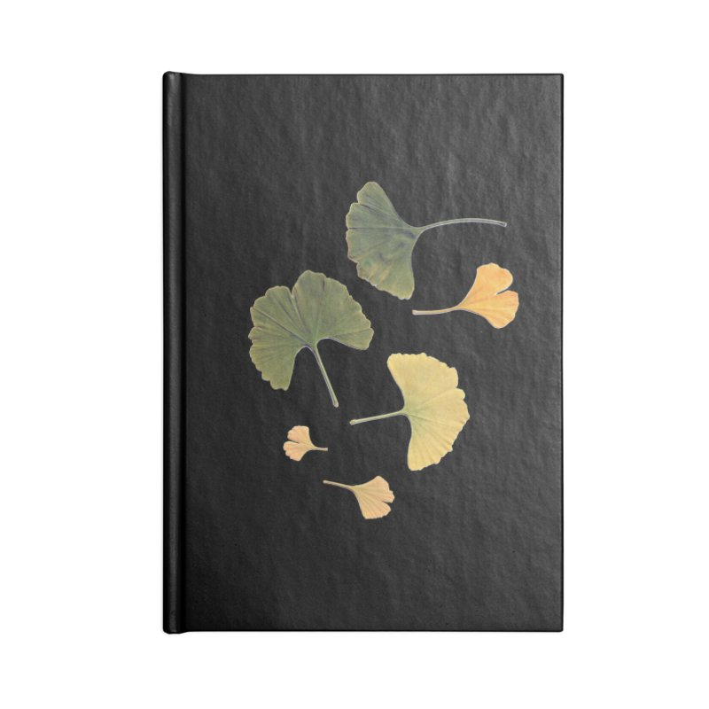 Ginkgo for you. Accessories Notebook by terryann's Artist Shop