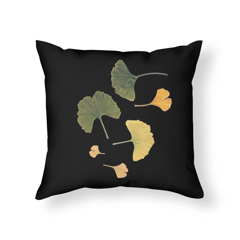 Ginkgo for you. Home Throw Pillow by terryann's Artist Shop