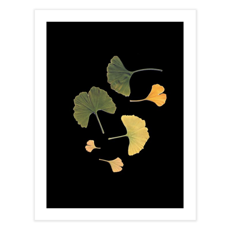 Ginkgo for you. Home Fine Art Print by terryann's Artist Shop