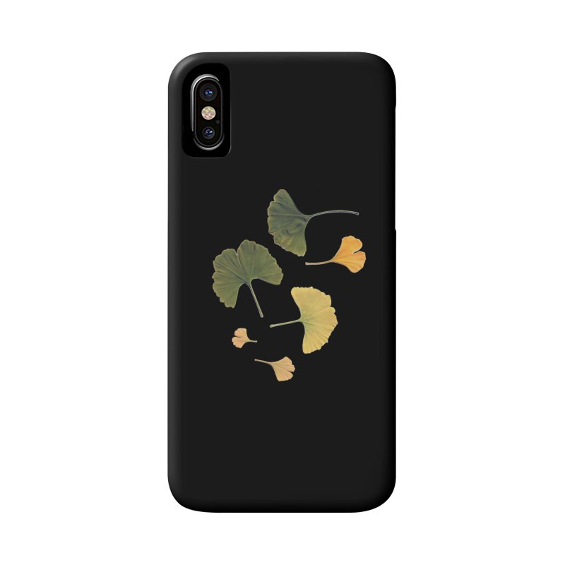 Ginkgo for you. Accessories Phone Case by terryann's Artist Shop