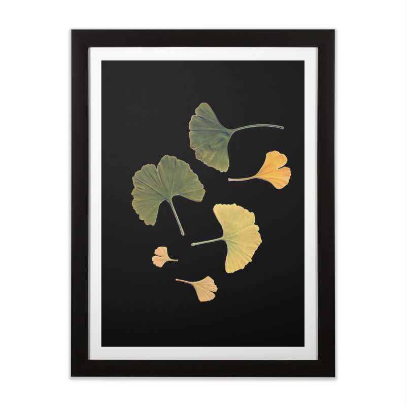 Ginkgo for you. Home Framed Fine Art Print by terryann's Artist Shop