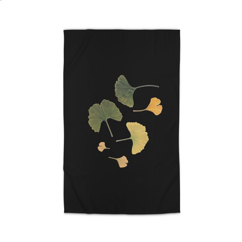 Ginkgo for you. Home Rug by terryann's Artist Shop