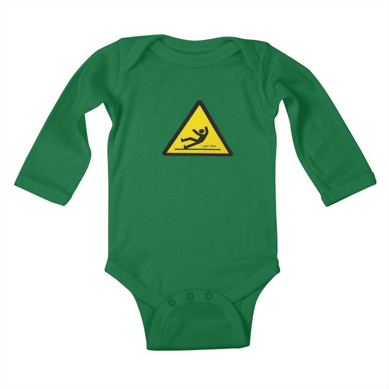 You got this. Kids Baby Longsleeve Bodysuit by terryann's Artist Shop