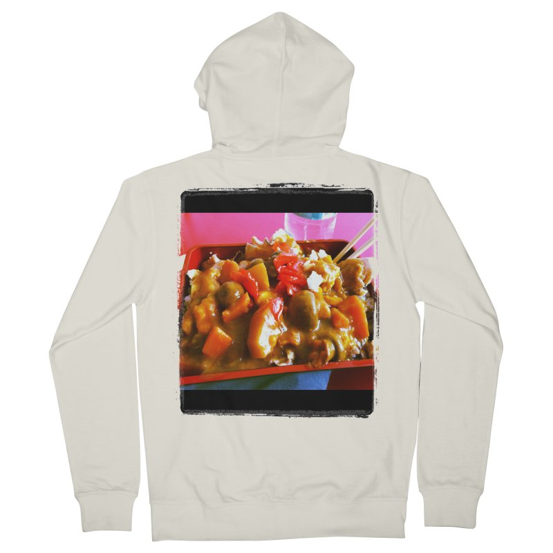 Curry in a Hurry. Men's Zip-Up Hoody by terryann's Artist Shop