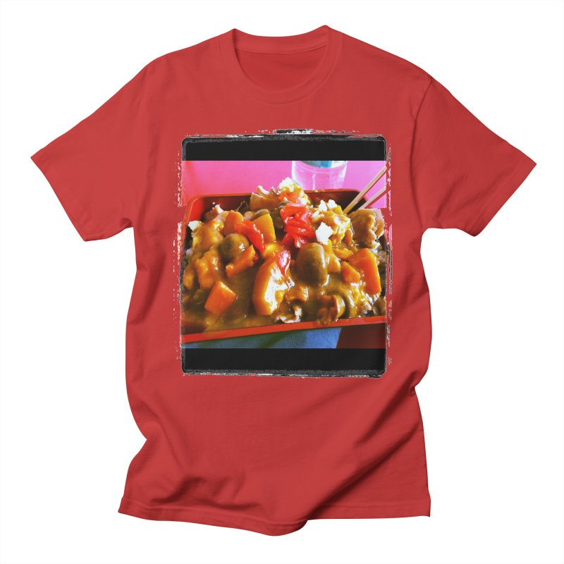 Curry in a Hurry. Men's T-Shirt by terryann's Artist Shop