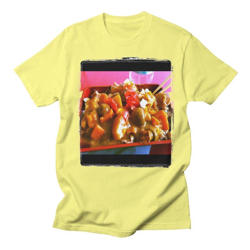 Curry in a Hurry. Men's T-shirt by terryann's Artist Shop