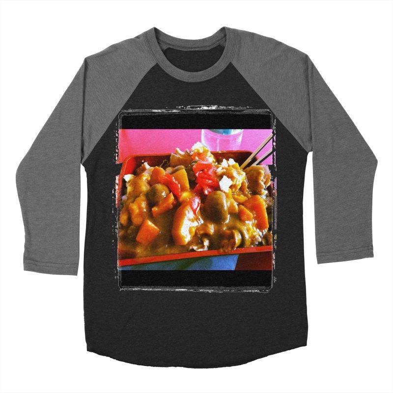 Curry in a Hurry. Women's Baseball Triblend T-Shirt by terryann's Artist Shop