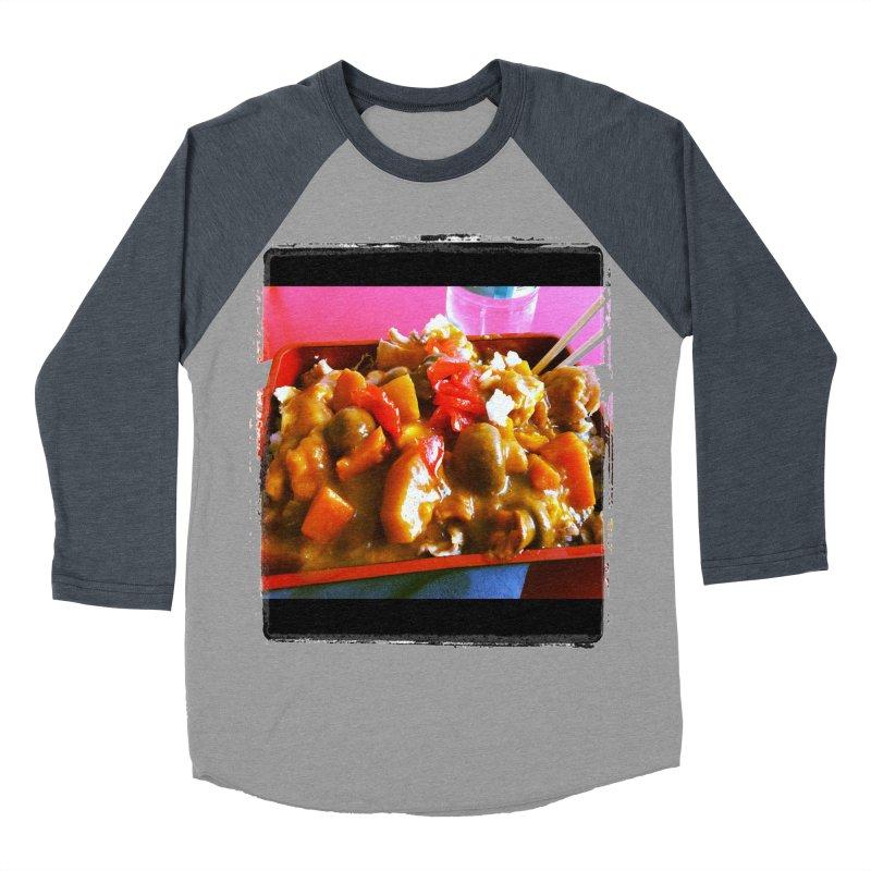 Curry in a Hurry. Men's Baseball Triblend T-Shirt by terryann's Artist Shop