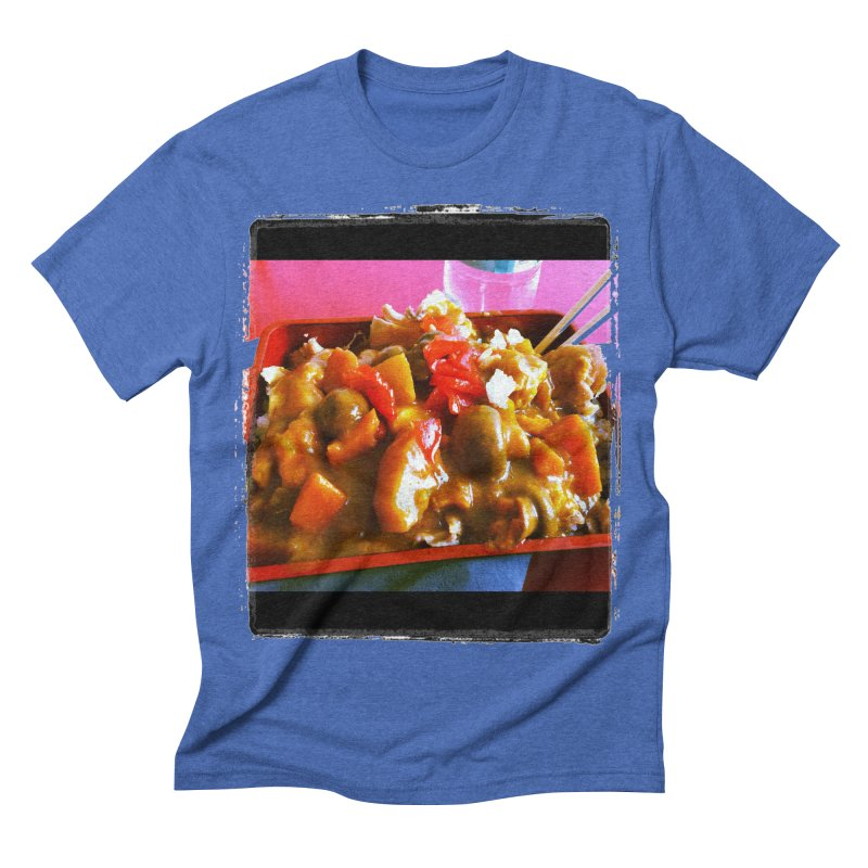 Curry in a Hurry. Men's Triblend T-shirt by terryann's Artist Shop